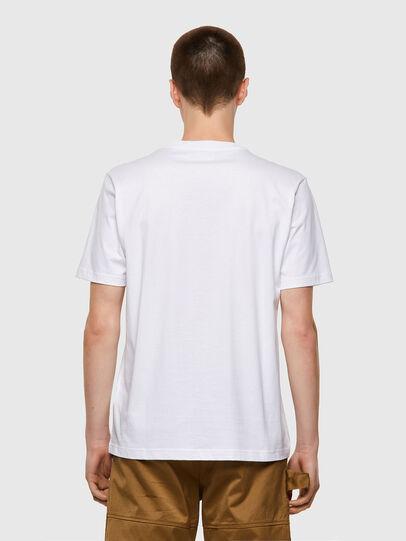 Diesel - T-JUST-B53, Bianco - T-Shirts - Image 2