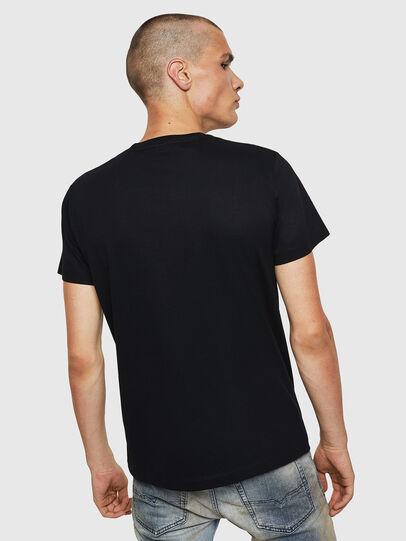Diesel - T-DIEGO-BX1, Nero - T-Shirts - Image 2