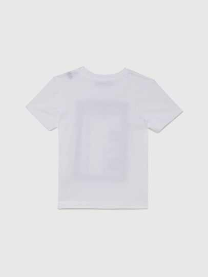 Diesel - TFULL78B-R, Bianco - T-shirts e Tops - Image 2