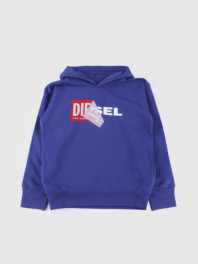 Diesel - SALBY OVER, Blu Ceruleo - Felpe - Image 1