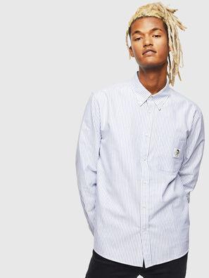 S-JAMES-A, Blu/Bianco - Camicie