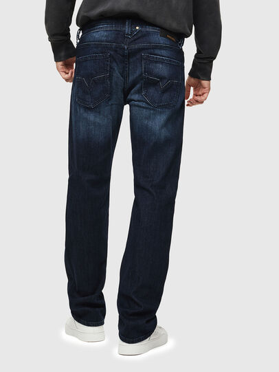 Diesel - Larkee 0095W, Blu Scuro - Jeans - Image 2