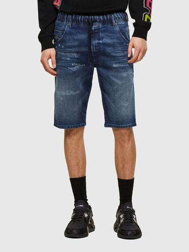 Shorts slim fit in JoggJeans® trattato