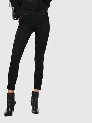 Slandy Zip 069EF, Nero/Grigio scuro - Jeans