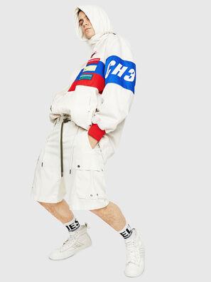 P-AIMI-P, Bianco - Shorts