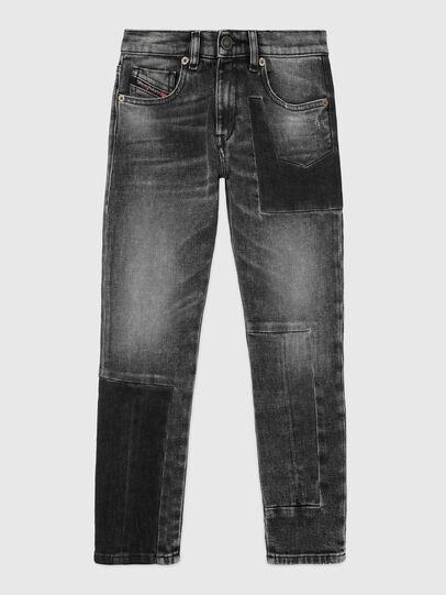 Diesel - D-STRUKT-GO-J, Nero/Grigio scuro - Jeans - Image 1