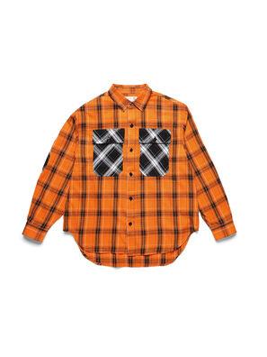 D-ANORACHECK, Arancione - Camicie
