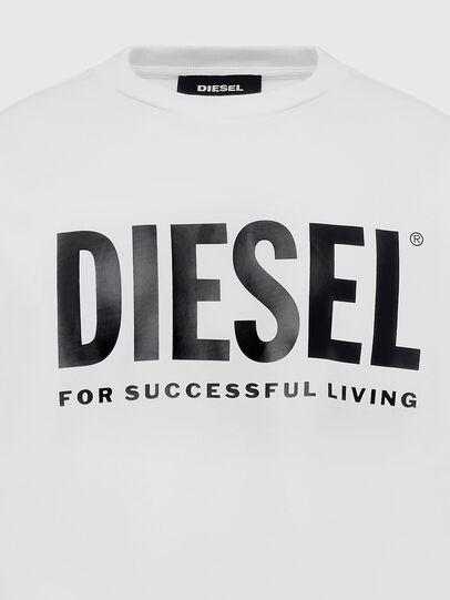 Diesel - S-GIR-DIVISION-LOGO, Bianco - Felpe - Image 3