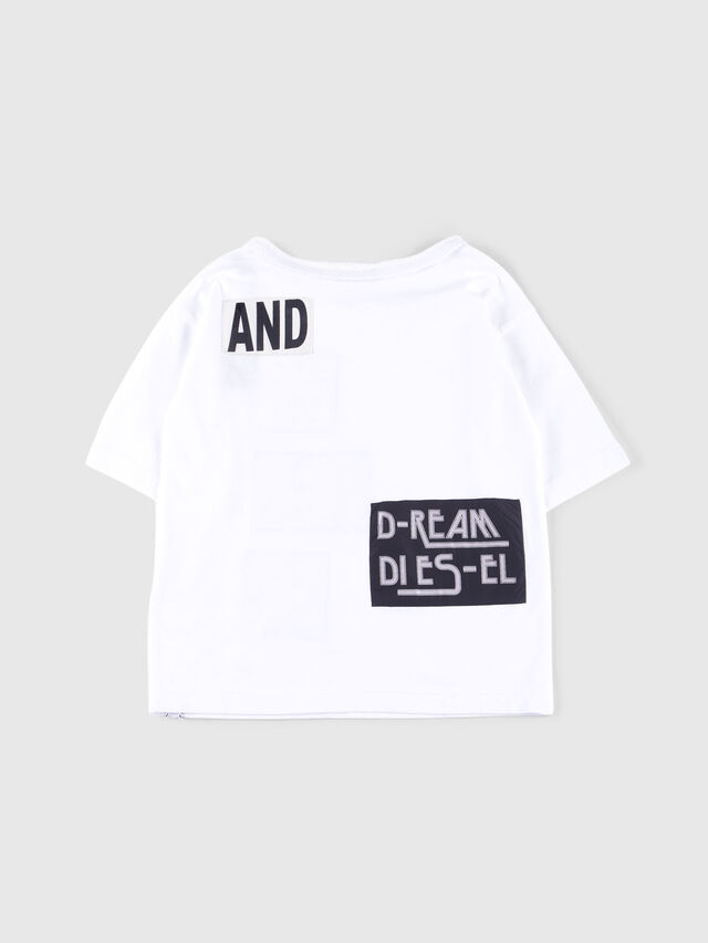 Diesel - TJACKY, Bianco - T-shirts e Tops - Image 2