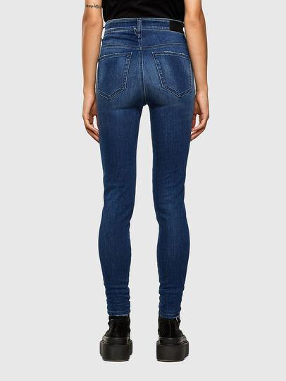 Diesel - Slandy High 009FE, Blu Scuro - Jeans - Image 2