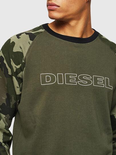 Diesel - UMLT-MAX, Verde Camo - Felpe - Image 3