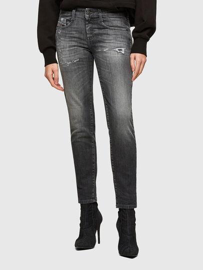 Diesel - D-Ollies JoggJeans® 009QT, Nero/Grigio scuro - Jeans - Image 1