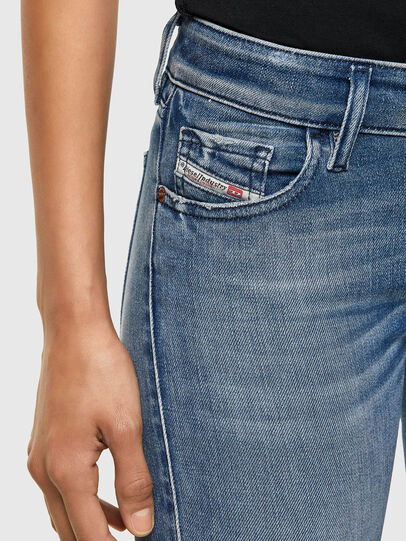 Diesel - Slandy Low 009JI, Blu Chiaro - Jeans - Image 3