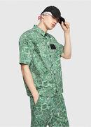 S-FRY-NP, Verde - Camicie