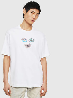 TEORIALE-A, Bianco - T-Shirts