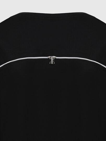 Diesel - T-BOWLY, Nero - T-Shirts - Image 4