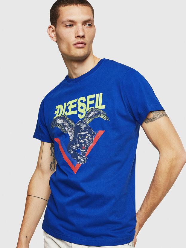 T-DIEGO-A4, Blu Brillante - T-Shirts