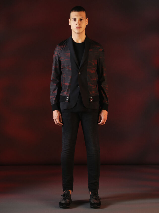 Diesel - DVL-JACKET-SPECIAL COLLECTION, Nero - Giacche - Image 4