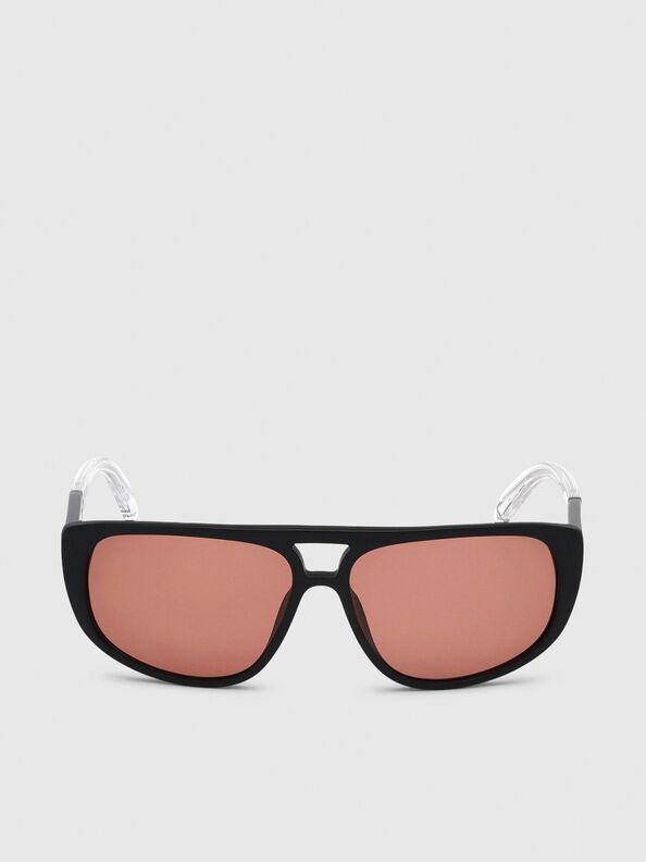 DL0300, Nero/Bianco - Occhiali da sole