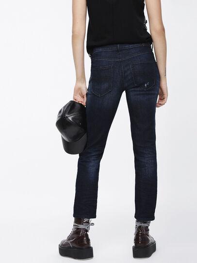 Diesel - Belthy Ankle 069BM, Blu Scuro - Jeans - Image 2