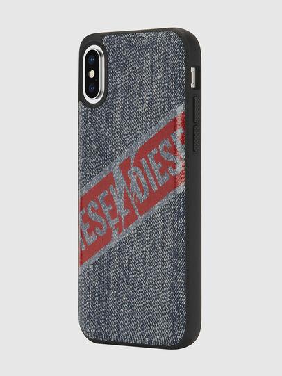 Diesel - VINTAGE DENIM IPHONE X CASE, Blu Jeans - Cover - Image 5