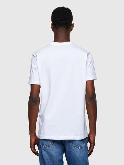 Diesel - T-DIEGOS-B8, Rosso/Bianco - T-Shirts - Image 2