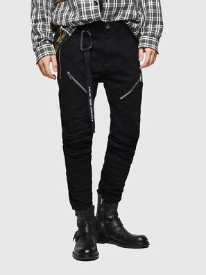 P-VON, Nero - Pantaloni