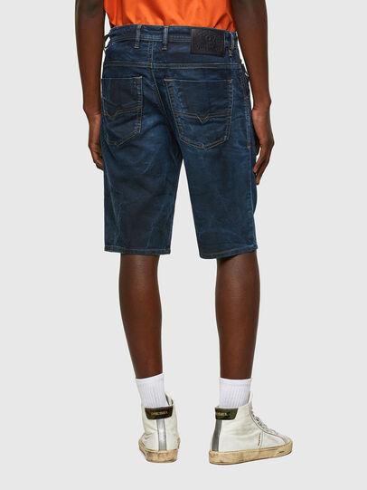 Diesel - D-KROOSHORT-Y JOGGJEANS, Blu Scuro - Shorts - Image 2