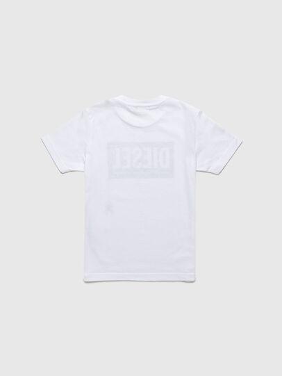 Diesel - TJUSTLOGOB-R, Bianco - T-shirts e Tops - Image 2