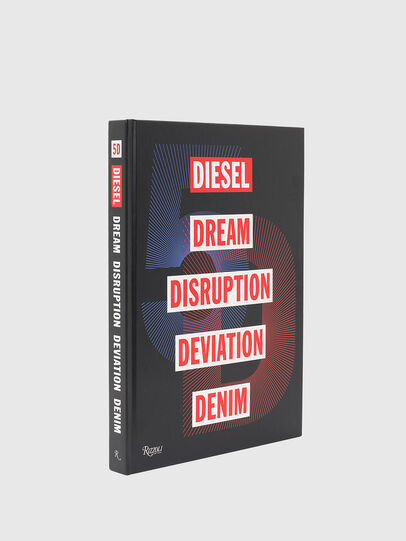 Diesel - 5D Diesel Dream Disruption Deviation Denim, Nero - Libri - Image 1