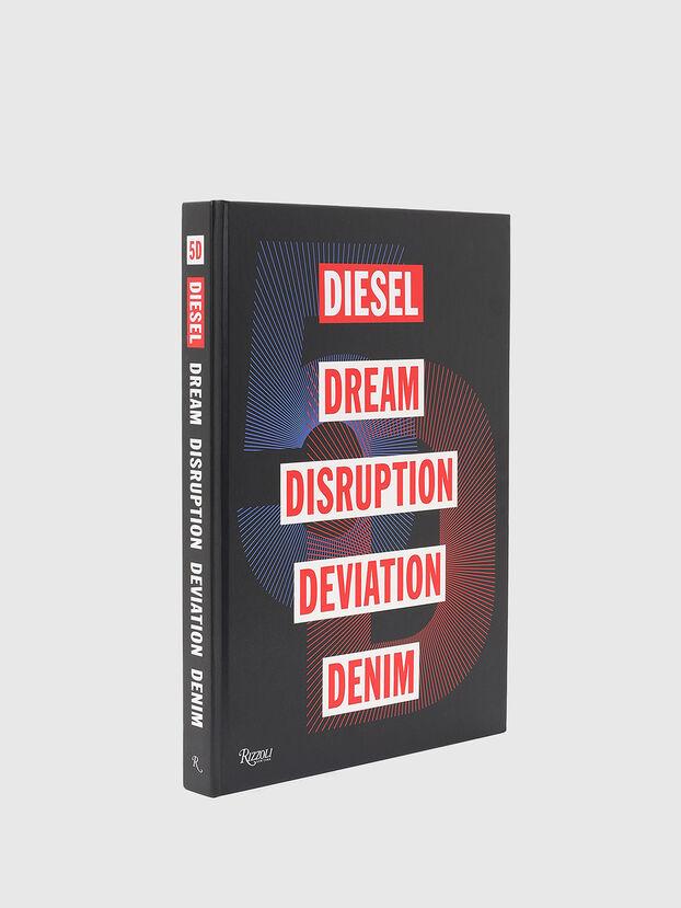5D Diesel Dream Disruption Deviation Denim, Nero - Libri