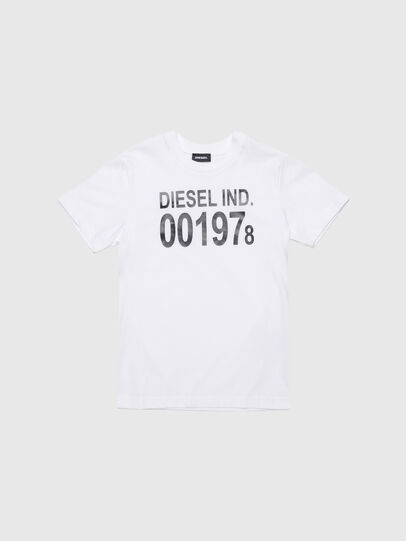 Diesel - TDIEGO001978, Bianco - T-shirts e Tops - Image 1