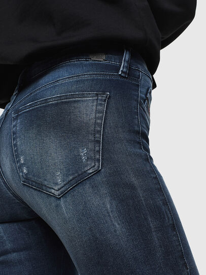 Diesel - Slandy 0096K, Blu Scuro - Jeans - Image 4
