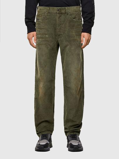 Diesel - D-Macs 069PT, Verde Militare - Jeans - Image 1