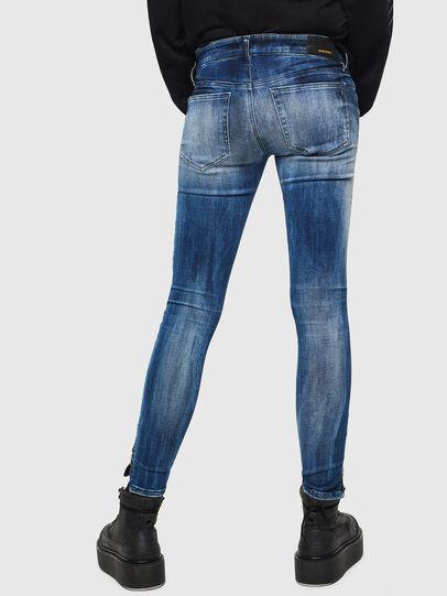 Diesel - Slandy Low 0095C, Blu medio - Jeans - Image 3