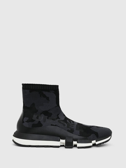 Diesel - H-PADOLA HIGH SOCK, Nero - Sneakers - Image 1