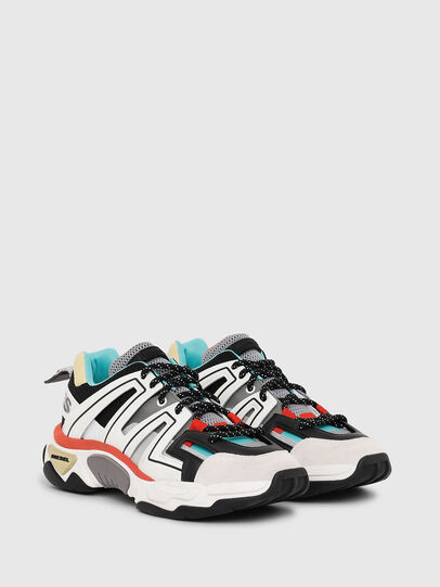 Diesel - S-KIPPER LOW TREK, Bianco - Sneakers - Image 2