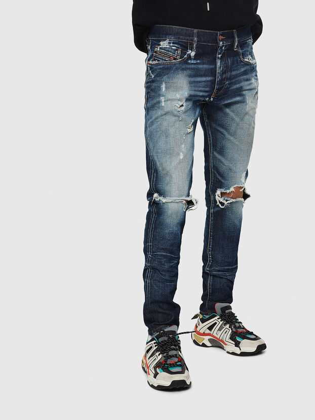 D-Strukt 084AD, Blu medio - Jeans