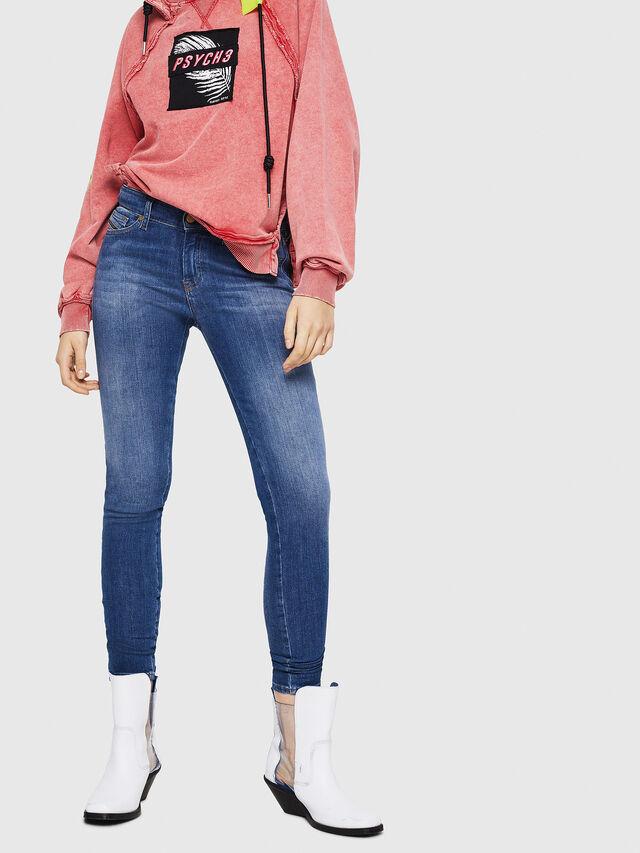 Diesel - Slandy 088AU, Blu medio - Jeans - Image 1