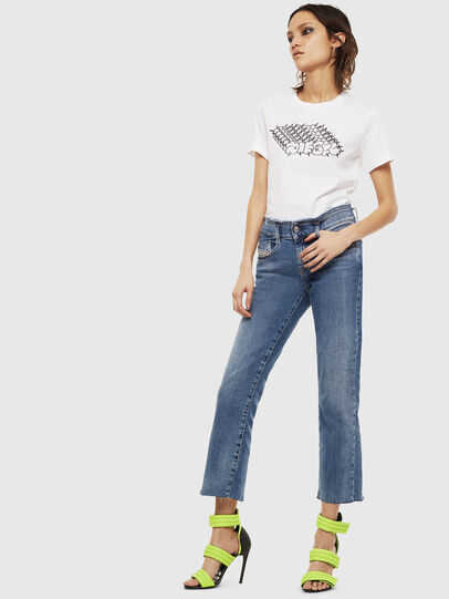 Diesel - T-SILY-S6, Bianco - T-Shirts - Image 4