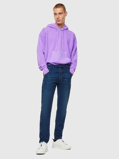 Diesel - Krooley JoggJeans 0098H, Blu medio - Jeans - Image 6