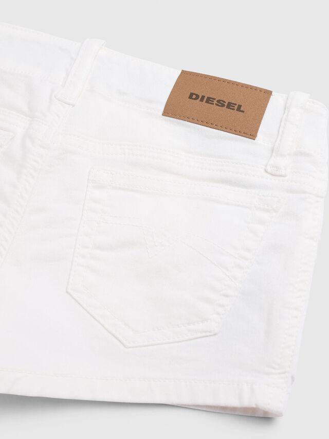 Diesel - PRIRAZ-N, Bianco - Shorts - Image 3