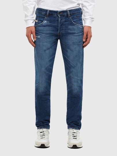 Diesel - D-Bazer 009DE, Blu Scuro - Jeans - Image 1