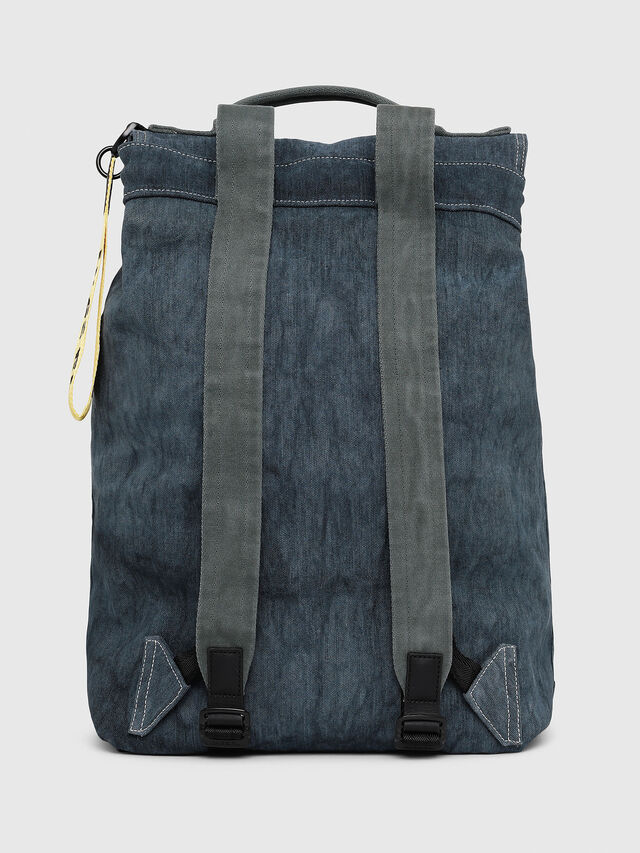 Diesel - VOLPAGO BACK, Blu Jeans - Zaini - Image 2