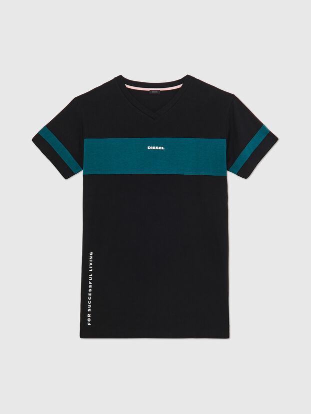 UFTEE-CHEERLY, Nero/Blu - T-Shirts
