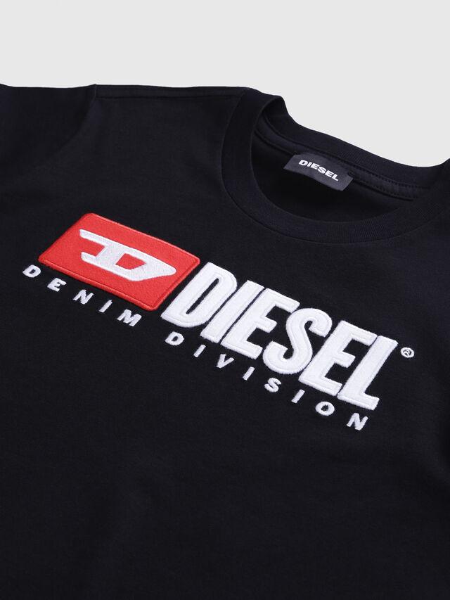 Diesel - TJUSTDIVISION, Nero - T-shirts e Tops - Image 3