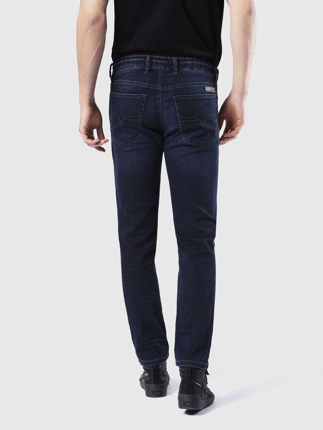 Diesel - Waykee JoggJeans 0842W, Blu Scuro - Jeans - Image 3