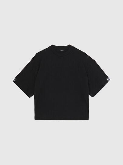 Diesel - UFTEE-SHORTEE, Nero - T-Shirts - Image 1