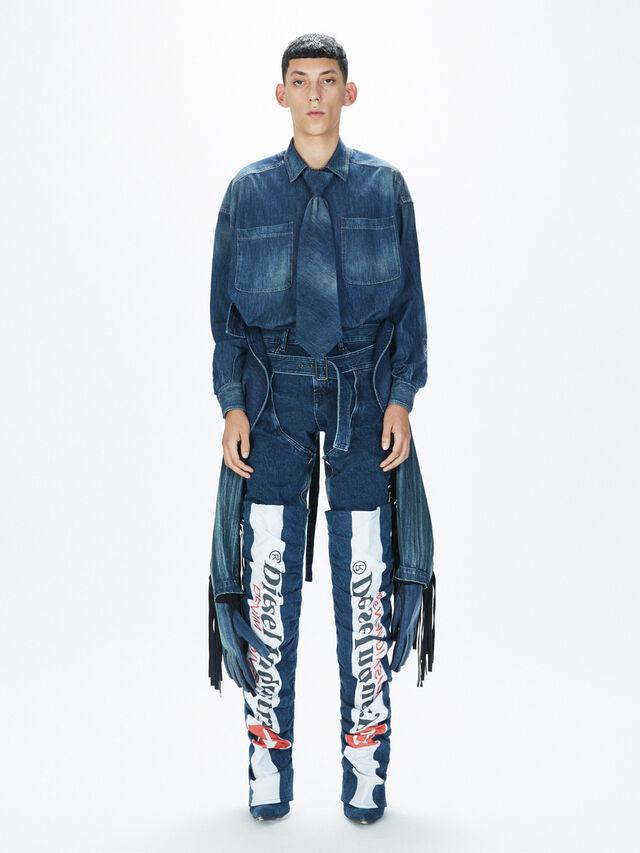 Diesel - SOGLV01-KIT, Blu Jeans - Guanti - Image 7