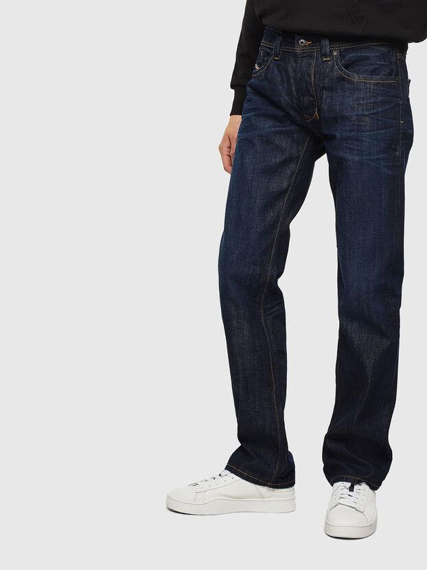 Larkee 0806W, Blu Scuro - Jeans